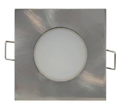 Vestavné bodové svítidlo 230V GR GXLL027 LED BONO-R Matt chrome  5W NW BONO-S
