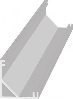 Příslušenství k LED GR GXLP012 AL-PROFIL V AL-PROFIL