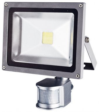 Reflektor GR GXLS055 TOMI MCOB 20W s čidlem