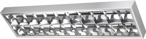 Stropní svítidlo GR GXRP020 GEMINI EVG 2x58W emergency