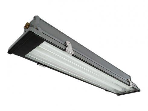 Průmyslové svítidlo GR GXWP075 DUST metal  2x36W emergency