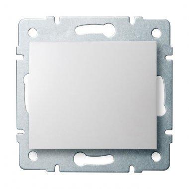 Jednopólový vypínač - č. 1 - bílá - LOGI KA 25065