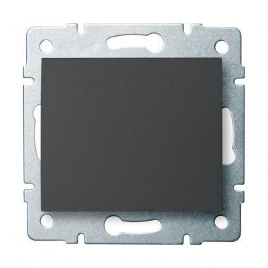 Jednopólový vypínač - č. 1 - grafit - LOGI KA 25243