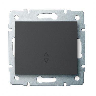 Schodišťový vypínač - č. 6 - grafit - LOGI KA 25250