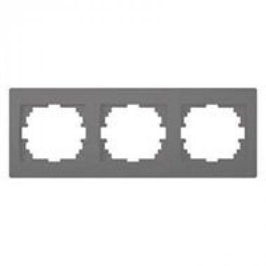 Trojnásobný horizontální rámeček - grafit - LOGI KA 25296