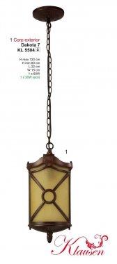 Venkovní svítidlo závěsné KL 5504