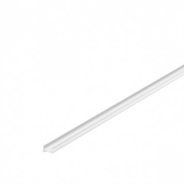 GRAZIA 10 profil na stěnu LED plochý drážkovaný 2m bílý - BIG WHITE SLV