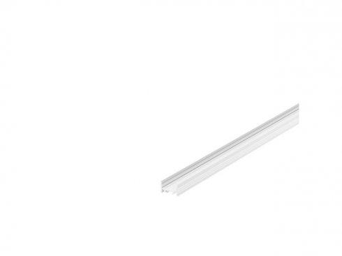 GRAZIA 20 profil na stěnu LED plochý drážkovaný 1m bílý - BIG WHITE