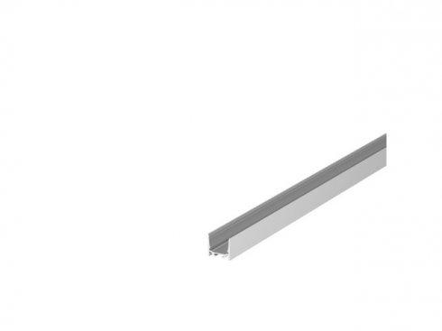 GRAZIA 20 profil na stěnu LED standard hladký 1m hliník - BIG WHITE SLV