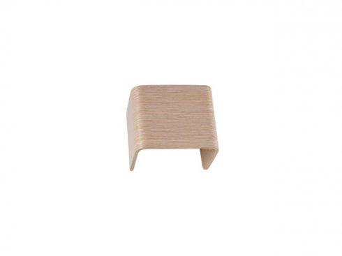 MANA stínidlo dřevo bílé 12x10x9cm - BIG WHITE SLV