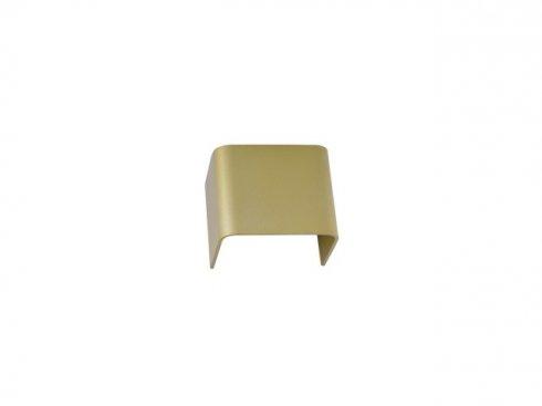 MANA stínidlo hliník mosaz kartáčovaná 12x10x9cm - BIG WHITE