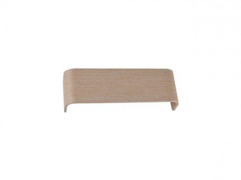MANA stínidlo dřevo bílé 29x9,5x7cm - BIG WHITE