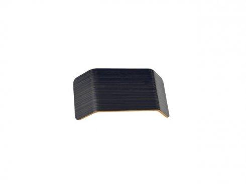 MANA stínidlo dřevo šedéxhnědé 27x13,5x6,5 cm - BIG WHITE