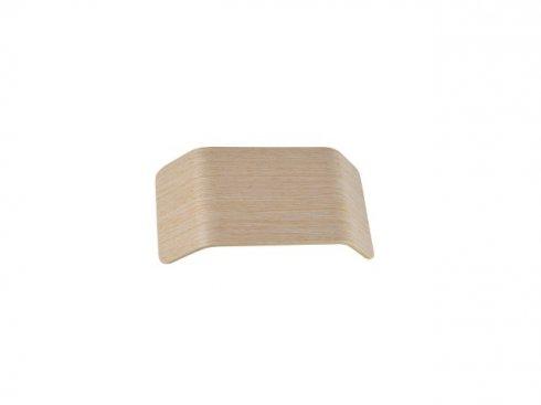 MANA stínidlo dřevo bílé 27x13,5x6,5 cm - BIG WHITE