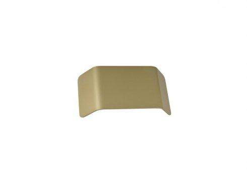 MANA stínidlo hliník mosaz kartáčovaná 27x13,5x6,5 cm - BIG WHITE SLV