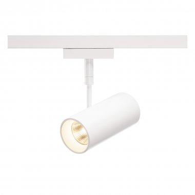 REVILO  zářivka na 2fázovou vysokonapěťovou napájecí kolejnici, LED, 2700K, bílá, 15°, vč. 2fázového adaptéru