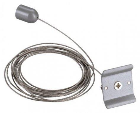Systémové svítidlo lankový závěs pro jednookr. lištu stříbrnošedá LA 143142