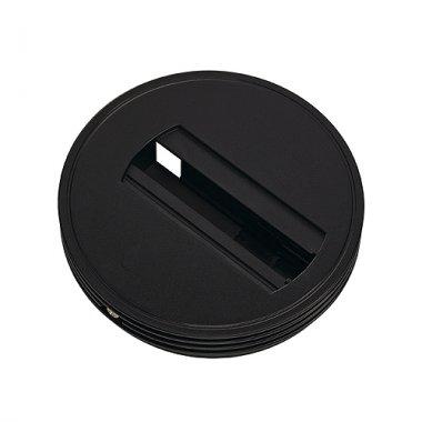 Adapter základna pro jednookr. lištu černá 230V SLV LA 143380
