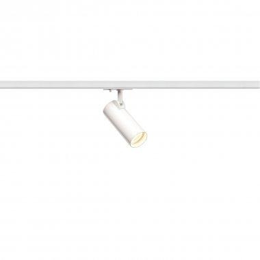 HELIA 50  zářivka na 1fázovou vysokonapěťovou napájecí kolejnici, LED, 3000K, bílá, 35°, vč. 1fázového adaptéru