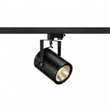 EURO SPOT LED pro tříokr. lištu černá 230V LED 21W 36° 3000K - BIG WHITE SLV - Profesional
