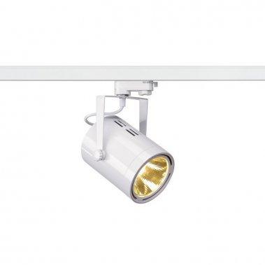 EURO SPOT LED pro tříokr. lištu bílá 230V LED 21W 36° 3000K LED  SLV LA 153811