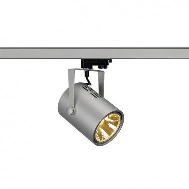 EURO SPOT LED pro tříokr. lištu stříbrnošedá 230V LED 21W 36° 3000K LED  SLV LA 153814