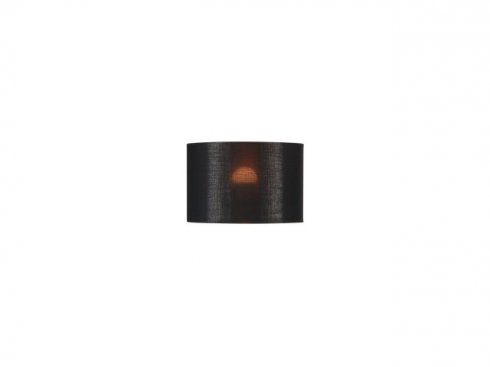 Stínítko svítidla FENDA, pr.300/v200, černé/měď  LA 155592