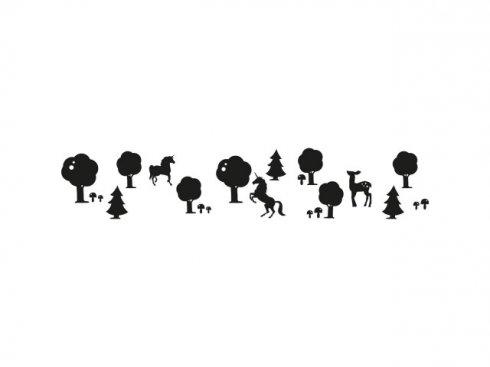 Nálepka Pohádka, černá, vč. stěrky LA 155988