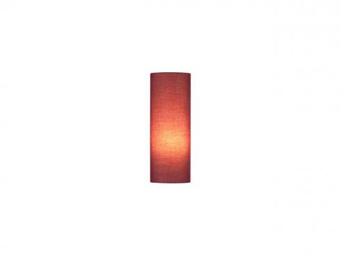 Stínítko svítidla FENDA, D150/H400, válcové, vínově červené LA 156146