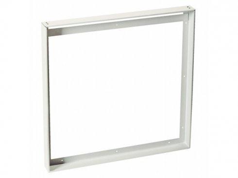 Univerzální nástavbový rámeček pro čtvercové panely LED 595x595 mm, bílý matný LED  LA 158762