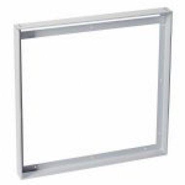NÁSTAVBOVÝ RÁMEČEK pro panel LED I-VIDUAL stříbrošedý D/Š 605/605 - BIG WHITE SLV