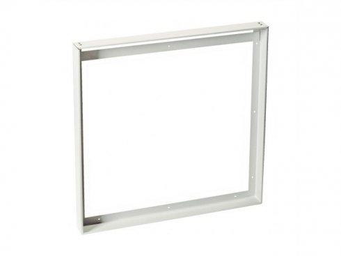 Univerzální nástavbový rámeček pro čtvercové panely LED 625x625 mm, bílý matný  LA 158772