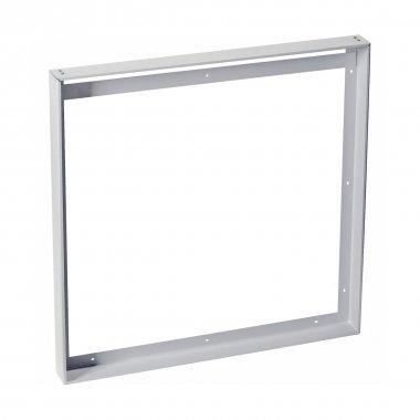NÁSTAVBOVÝ RÁMEČEK pro panel LED I-VIDUAL stříbrošedý D/Š 625/625 - BIG WHITE