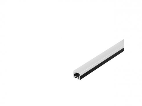 GLENOS Profi profil 2020–200, černý, 2 m, s bílým krytem LA 213440