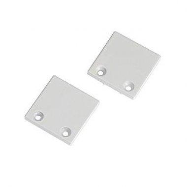 Koncovky pro hliníkový profil 2ks bílá SLV LA 213451