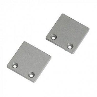 Koncovky pro hliníkový profil 2ks stříbrnošedá SLV LA 213454