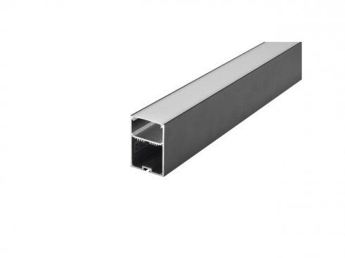 Profi profil GLENOS 4970–200 s víkem, matný bílý, 2 m SLV LA 213470