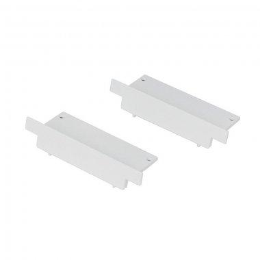 GLENOS koncovky pro zápusný profil 2ks bílá - BIG WHITE SLV - Profesional