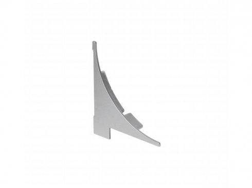 GLENOS koncový kryt pro regálový profil, 2 ks, stříbrný LA 213574