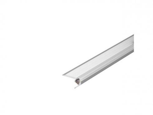 GLENOS stupňový profil schodů UP 100, eloxovaný hliník, 1 m LA 213581
