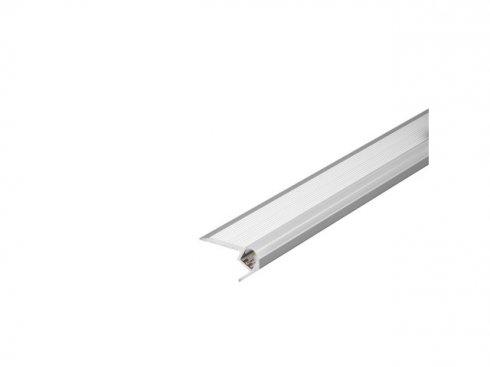 GLENOS stupňový profil schodů UP 200, eloxovaný hliník, 2 m LA 213582