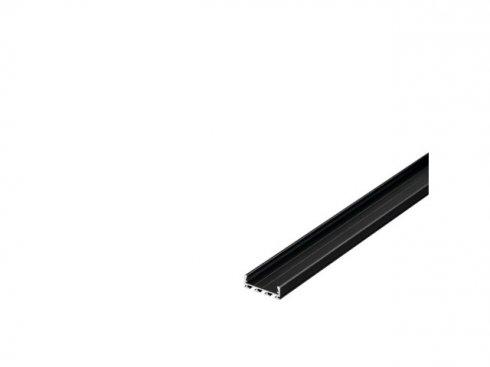 GLENOS Profi profil 2609-100, matný černý, 1 m LA 213700