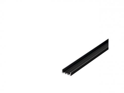 GLENOS Profi profil 2609-200, matný černý, 2 m SLV LA 213710