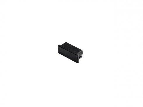 GLENOS koncová krytka pro Profi profil 2609 FLAT, matná černá, 2 ks LA 213770
