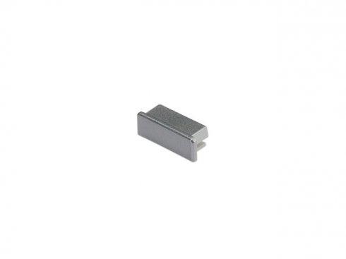 GLENOS koncová krytka pro Profi profil 2609 FLAT, stříbrná, 2 ks LA 213774