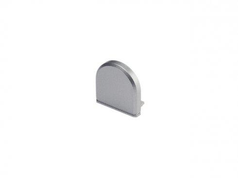 GLENOS koncová krytka pro Profi profil 2609 CURVED, stříbrná, 2 ks SLV LA 213784