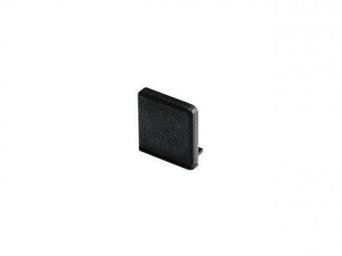 GLENOS koncová krytka pro Profi profil 2609 SQUARE, matná černá, 2 ks SLV LA 213790
