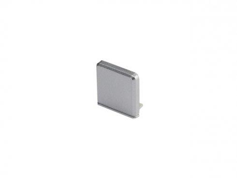 GLENOS koncová krytka pro Profi profil 2609 SQUARE, stříbrná, 2 ks LA 213794