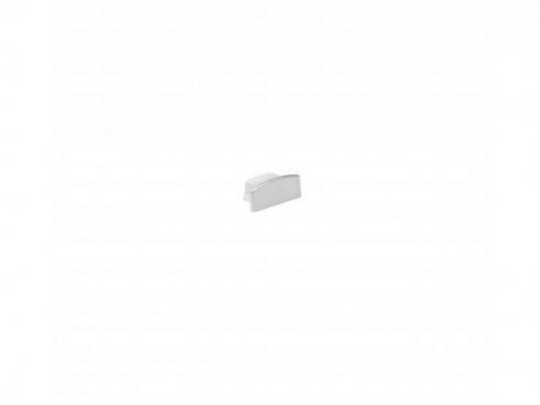 GLENOS koncový kryt pro lineární profil 1809, stříbrný, 2 ks LA 213834
