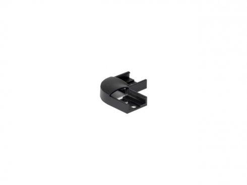 GLENOS 90° spojka pro lineární profil 1809, matná černá, 2 ks SLV LA 213840